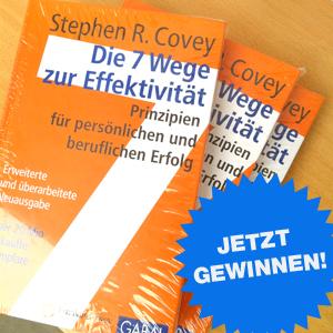 """3 Exemplare von """"Die 7 Wege zur Effektivität"""" zu gewinnen!"""